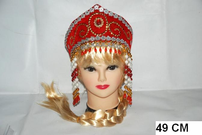 Сделать своими руками русские головные уборы