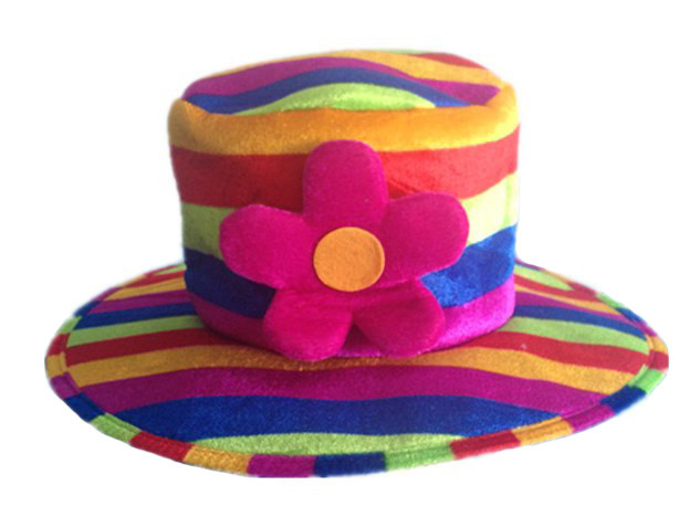 Шляпка радуга своими руками